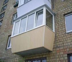 остекление балконов в Белгороде