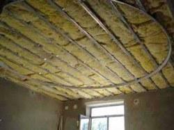 Утепление потолка в Белгороде. Утеплить потолок г.Белгород